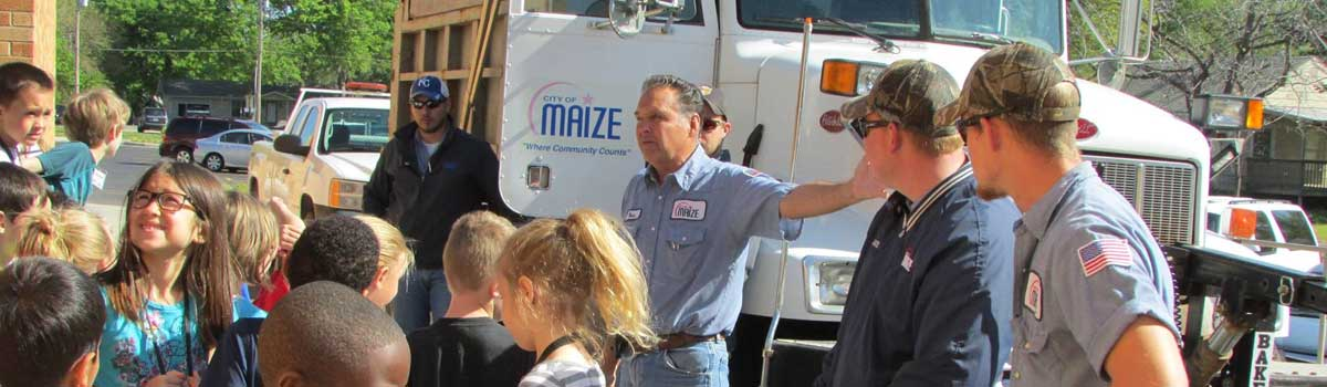 Maize Public Works in the Community