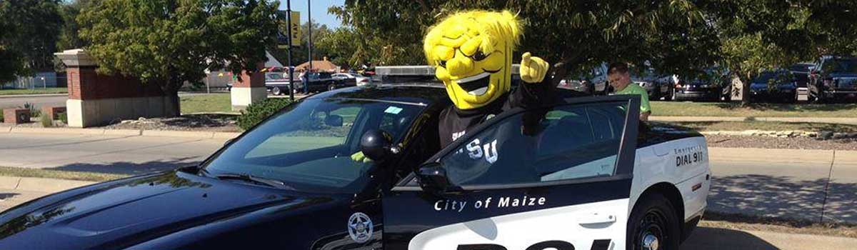 Maize Police Department and WSU Wu Shock