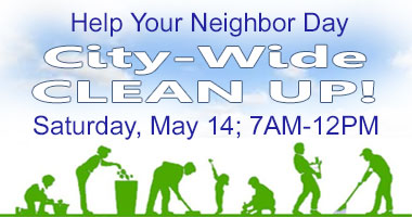 Help Your Neighbor Day - City-Wide Clean Up