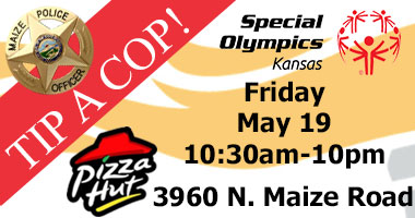 Tip A Cop! to support Special Olympics - May 19, 2017